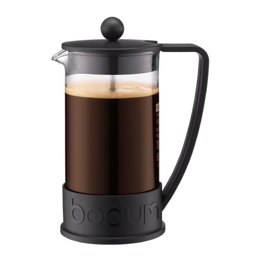 Kaffeebereiter  BODUM Kaffeebereiter Brazil, 8 Tassen, schwarz oder limettengrün